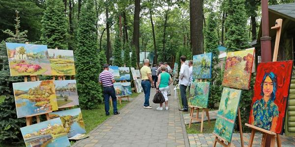 В Центральной Украине завершился 2-й Международный художественный пленэр