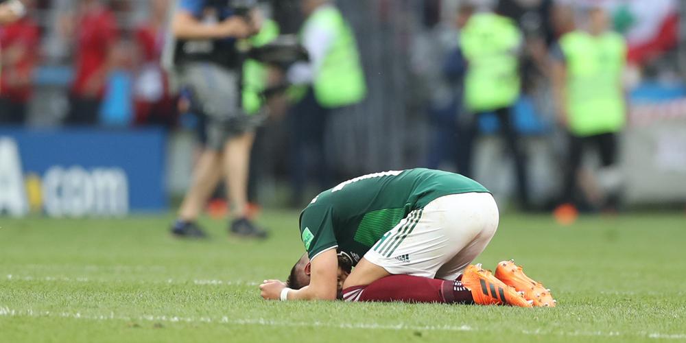 Футбол -- ЧМ-2018, группа F: сборная Мексики одолела сборную Германии