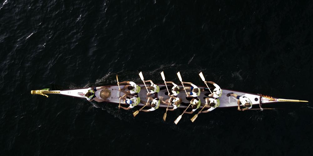 В провинции Цзянсу прошла Дунхайская регата лодок-драконов среди вузов с мировым именем 2018