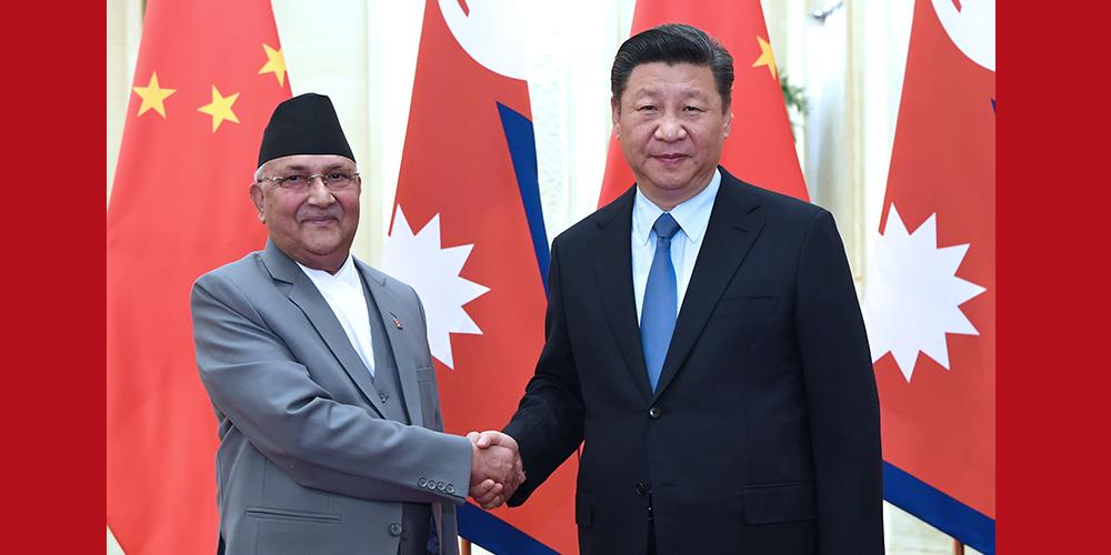 Си Цзиньпин встретился с премьер-министром Непала
