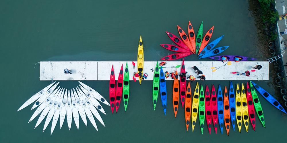 Гребля на байдарках и каноэ — Международные пригласительные соревнования по гребле на байдарках Zhijiang Cup 2018 в Цзяньдэ