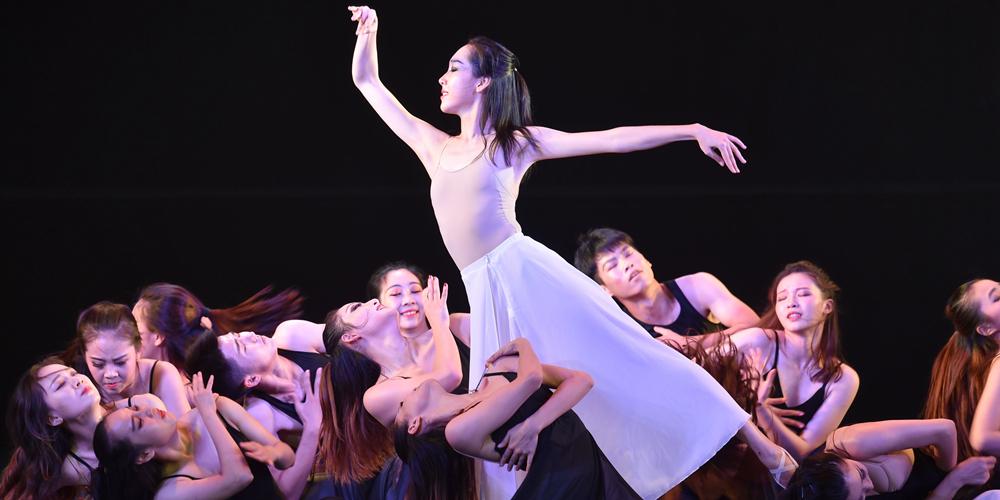 В Фучжоу проходит финал 2-го Студенческого конкурса танцев берегов Тайваньского пролива