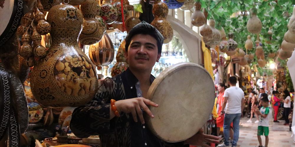 В Урумчи закончилась модернизация Синьцзянского международного большого базара