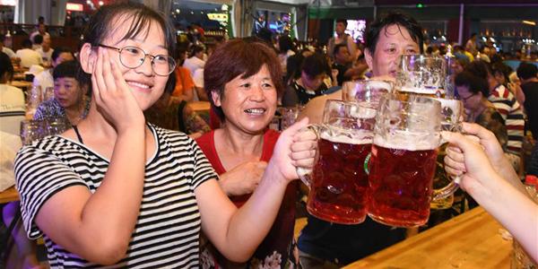 28-й Международный пивной фестиваль открылся в Циндао