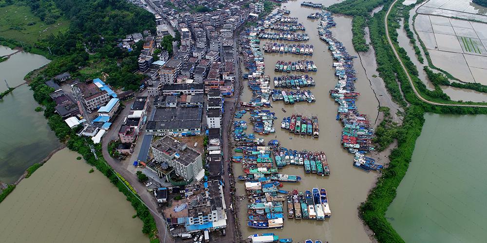 """Провинция Гуандун прилагает все силы для защиты от тайфуна """"Бебинка"""""""