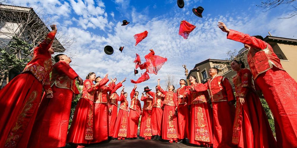 В Китае радостно встречают традиционный праздник Циси