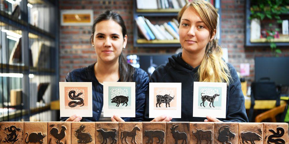 Студенты из России учатся традиционному китайскому искусству в Ланьчжоу