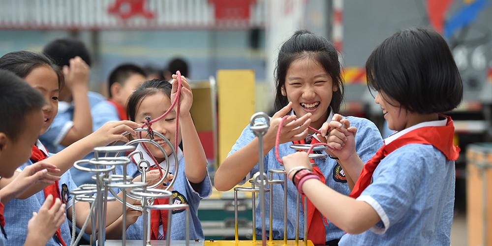 В провинции Хэбэй научные работники провели мероприятия по популяризации науки для школьников