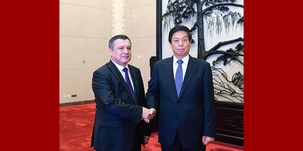 Ли Чжаньшу встретился со спикером Законодательной палаты Олий Мажлиса Узбекистана
