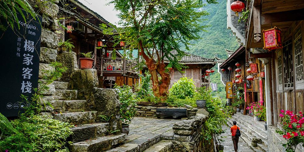 Сельский туризм способствует процветанию старинного городка в Чунцине