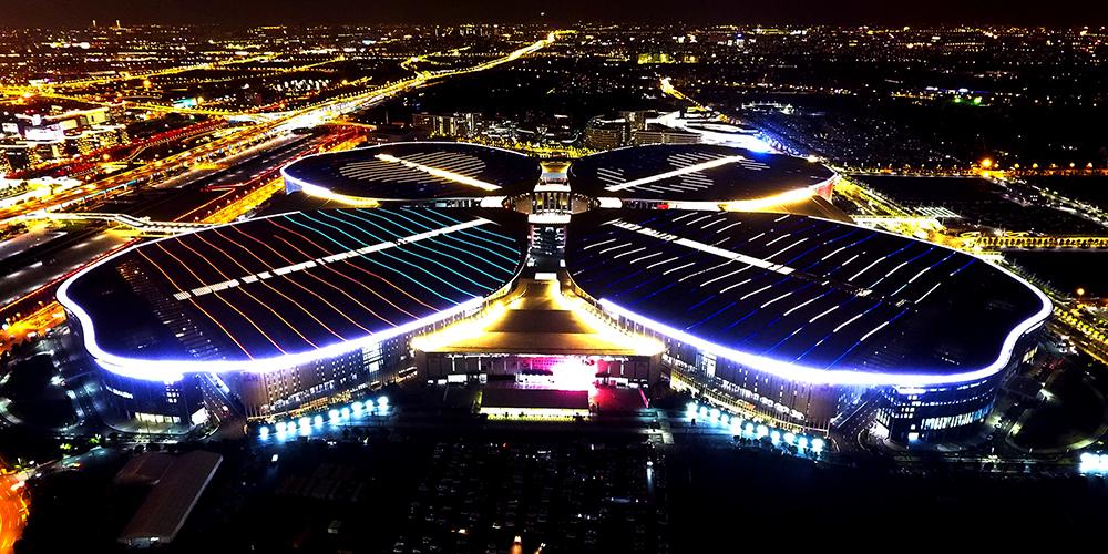 Национальный центр конгрессов и выставок в Шанхае