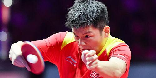 Китайский спортсмен Фань Чжэньдун стал обладателем Кубка мира по настольному теннису