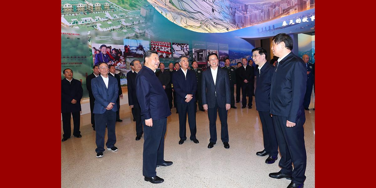 Си Цзиньпин посетил выставку в честь 40-летия политики реформ и открытости