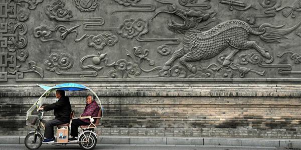 Древнее здание управы уезда Нэйсян
