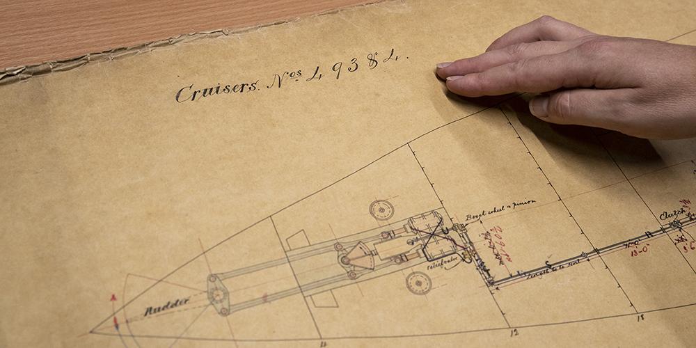 В Великобритании нашлись чертежи корабля, участвовавшего в китайско-японской войне 1894-1895 гг.