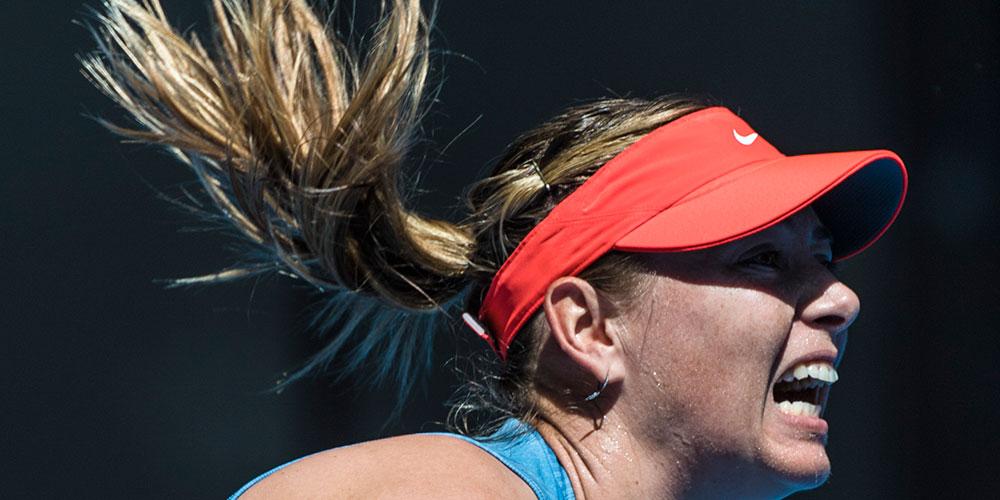 Российская теннисистка Мария Шарапова вышла во второй круг Australian open