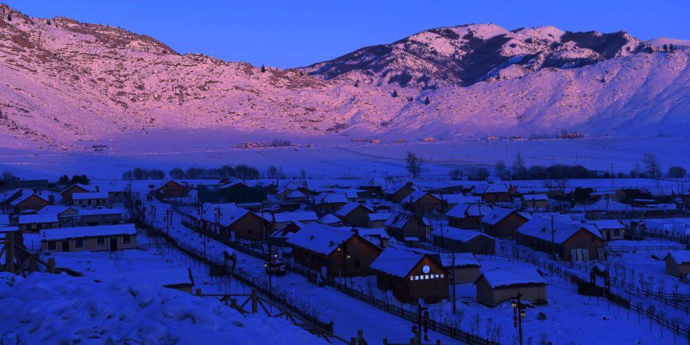 """Зима в """"первой деревне на Иртыше"""""""