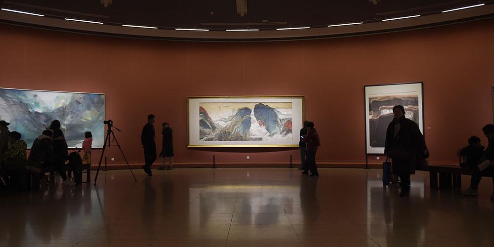 Выставка к Празднику весны открылась в Музее изобразительных искусств Китая