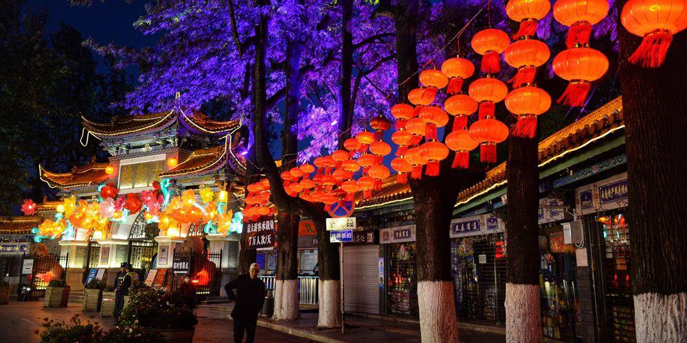 Новогодний сочельник в Китае