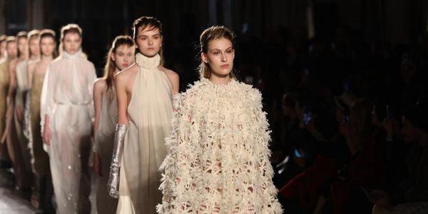 Показ коллекции Alberto Zambelli на Неделе моды в Милане
