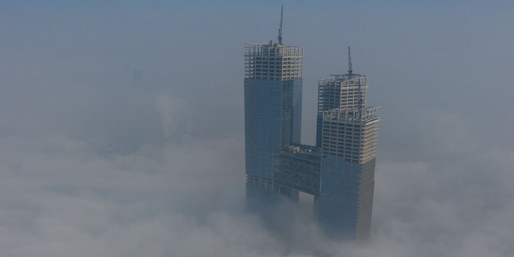 Нанкин в пелене тумана