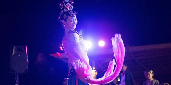 Китайские артисты выступили на Международном фестивале азиатского кино в Шарм-эш-Шейхе