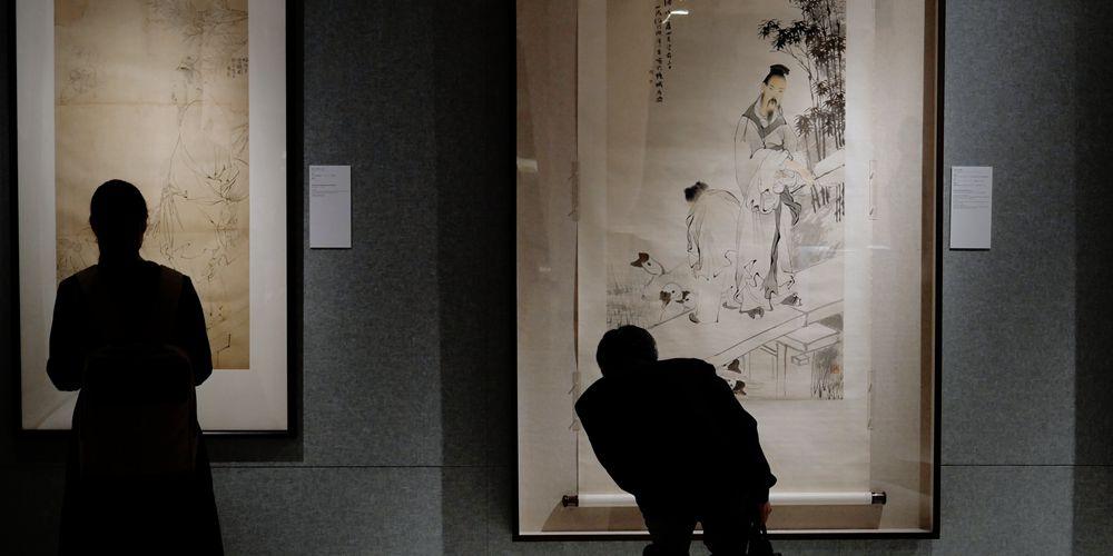 В Сянгане открылась персональная выставка китайского художника Жэнь Боняня