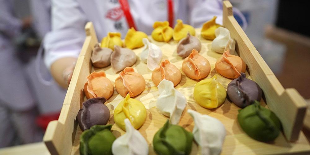Мучные изделия на Азиатском кулинарном фестивале в Пекине