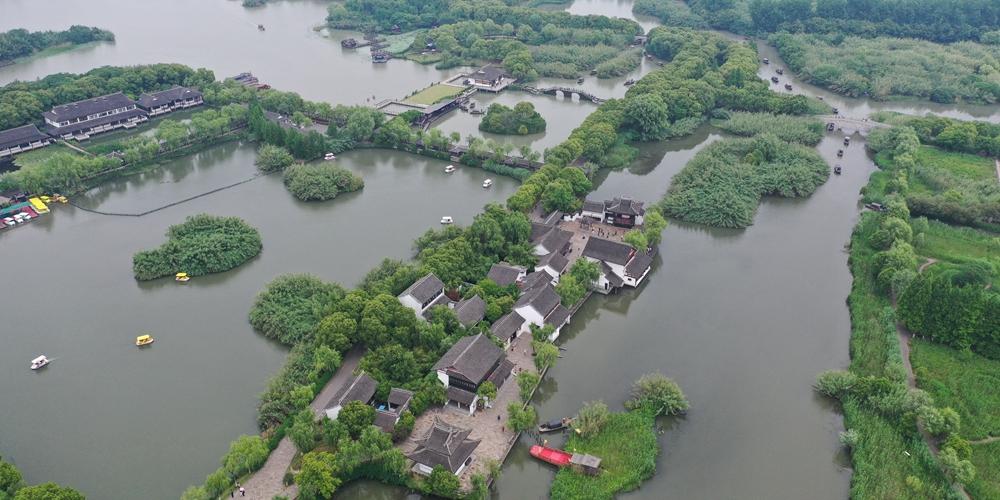 Ландшафтная зона Шацзябан на востоке Китая
