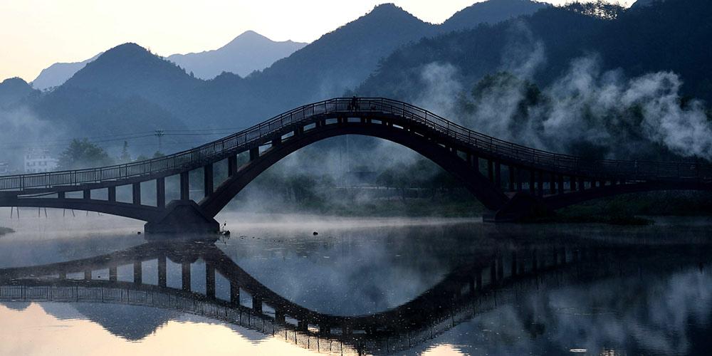 Раннее утро в провинции Аньхой
