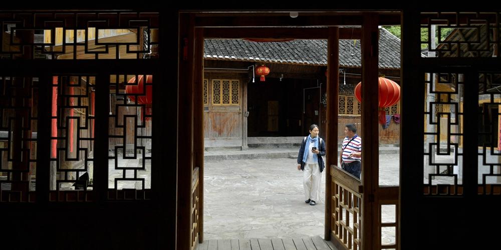 Новый дом в старом стиле в провинции Хубэй