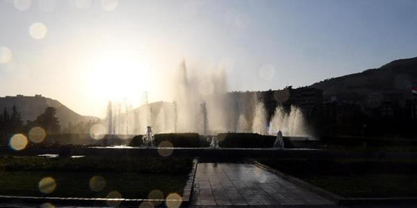 Дамаск охватила жара