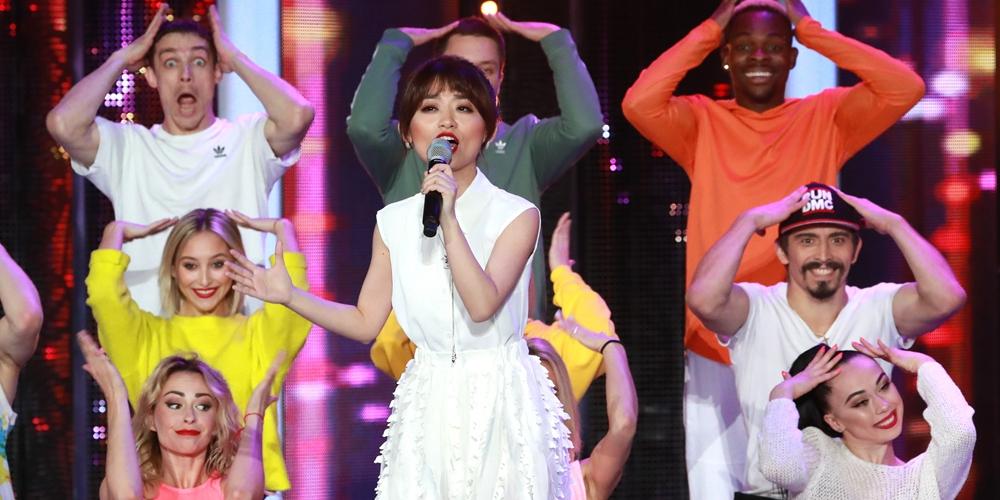 В международном конкурсе эстрадных исполнителей в Витебске впервые приняла участие певица из Китая