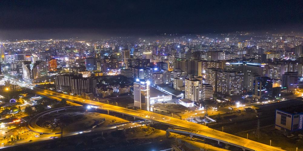 В Улан-Баторе пустили в эксплутацию крупнейшую в стране транспортную развязку, построенную силами китайской компании