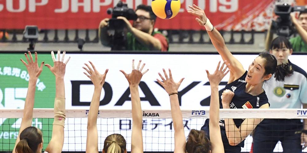 Волейбол -- Кубок мира среди женщин -- 2019: Китай -- Россия