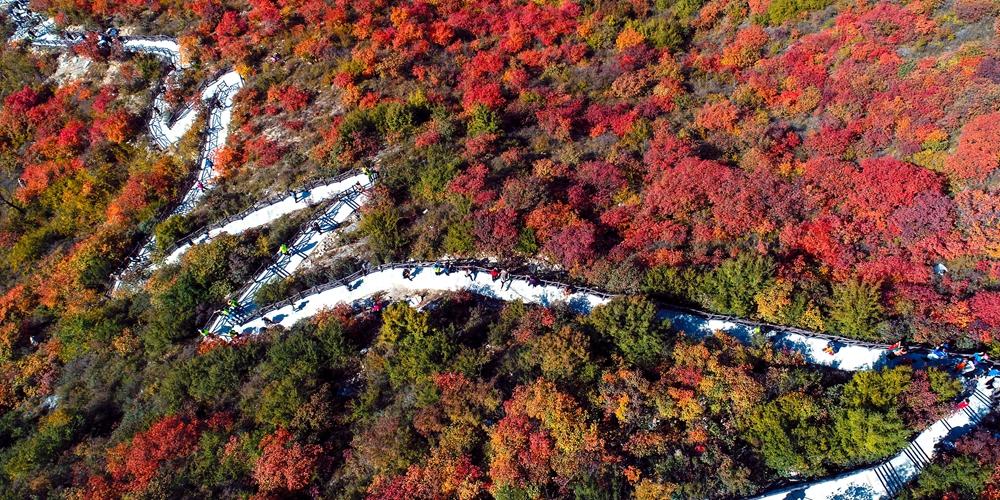 Осенняя красота гор Тайханшань