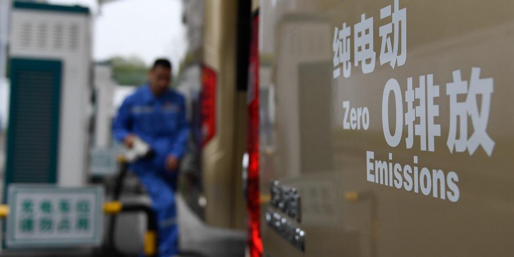 """Парк электробусов """"с нулевым уровнем выбросов"""" в Ханчжоу превысил 2500 единиц"""