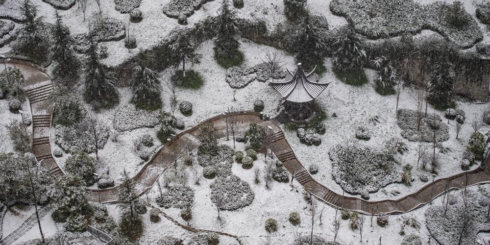 Снегопад обрушился на Юго-Западный Китай