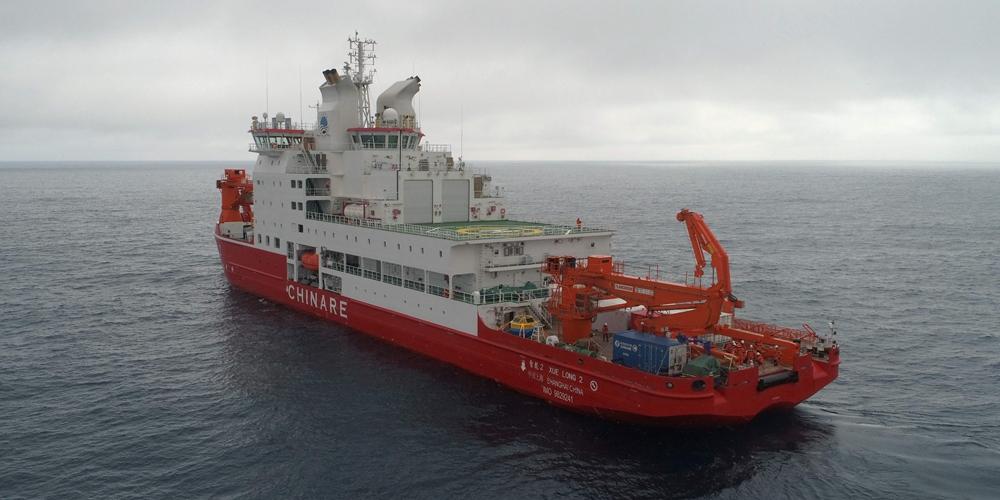 Китайские антарктические исследователи разместили в районе пояса западных ветров два буя с научной аппаратурой