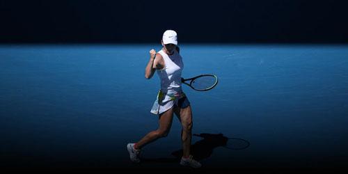 Румынская теннисистка С. Халеп победила эстонку А. Контавейт на Открытом чемпионате Австралии по теннису-2020