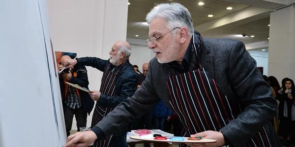 Армянские художники выразили поддержку китайскому народу