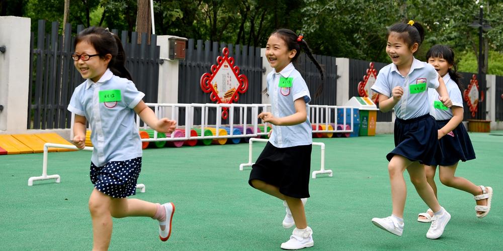 Возобновилась работа детских садов города Чжэнчжоу