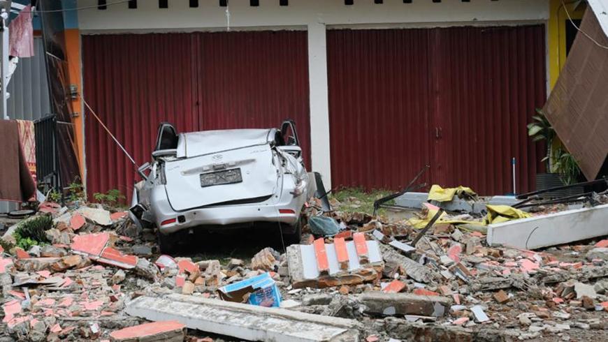 Число погибших в результате землетрясения в Индонезии возросло до 35 человек
