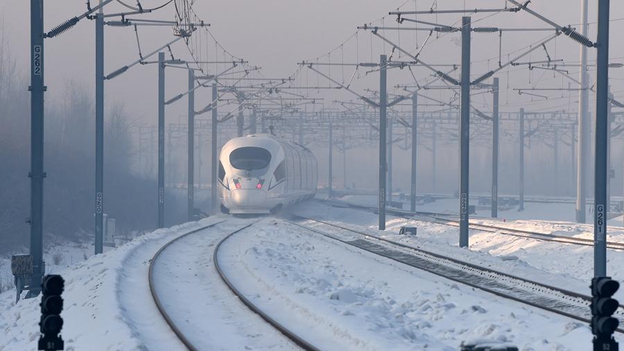 В Китае запущена в эксплуатацию ВСМ Пекин-Харбин