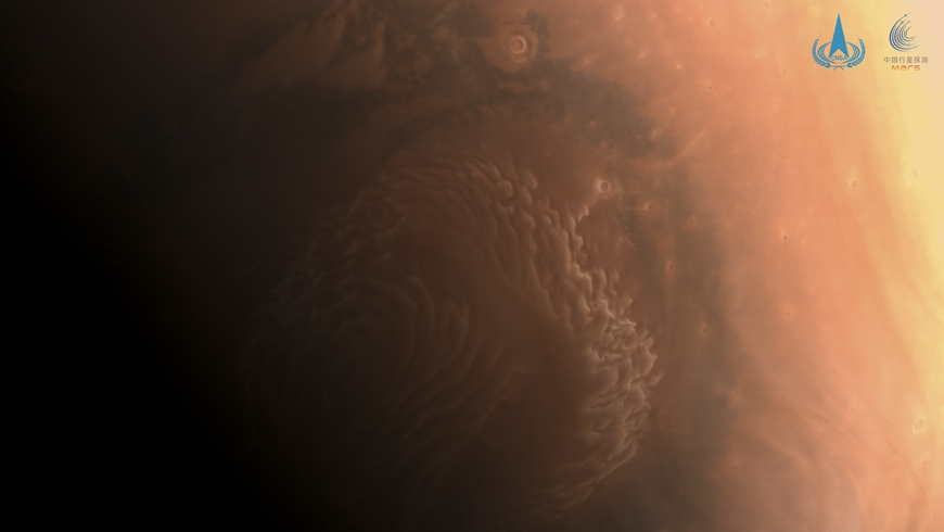 Китай продемонстрировал снимки Марса высокого разрешения