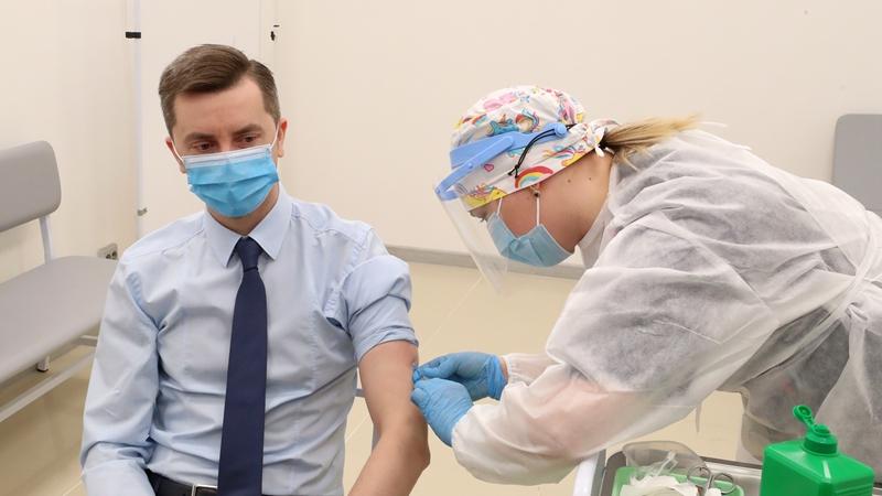"""В Китайско-белорусском индустриальном парке """"Великий камень"""" началась вакцинация от COVID-19"""