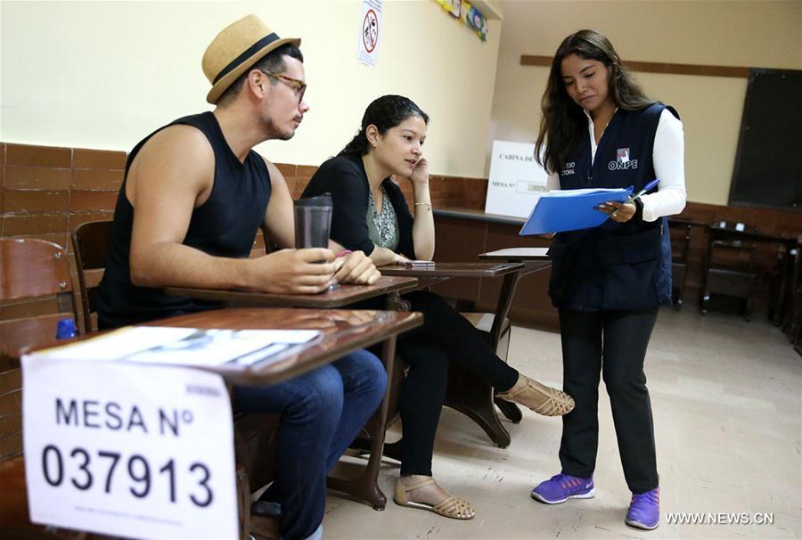 (XHDW)(1)秘鲁举行总统和国会选举