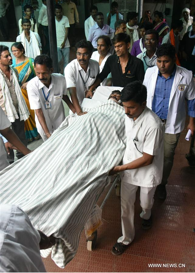 20 человек погибли в результате взрыва на складе боеприпасов в Индии