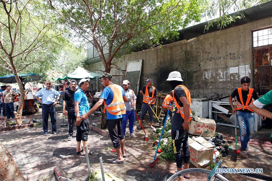 Как минимум 14 человек погибли и более 20 получили ранения при взрыве в Багдаде