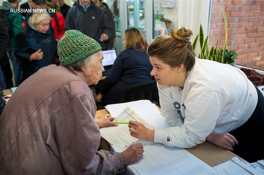 В Литве проходят парламентские выборы